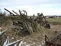 Threshing machine - geograph.org.uk - 1724406.jpg