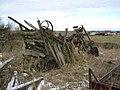 Threshing machine - geograph.org.uk - 1724406.jpg