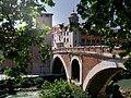 Tiber Island Bridge, Rome (9480036098).jpg