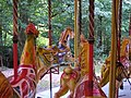 Tidman, Norwich 3-abreast steam gallopers (c1912) Hollycombe, Liphook 3.8.2004 P8030025 (10354104944).jpg