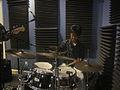 Tiger Onitsuka Quartet WWOZ Drums 2.jpg