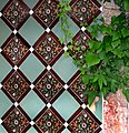 Tiles in the Summerhouse - geograph.org.uk - 412235.jpg