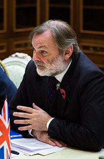 Tim Barrow British diplomat
