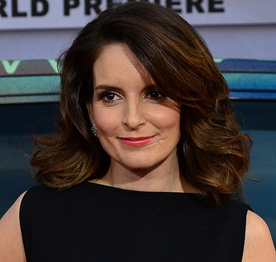 Tina Fey, American comedian, writer, producer and actress