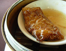 Tofu skin roll - Wikipedia, the free encyclopedia
