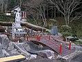 Tokutsu-temple-sasayama 東窟寺岩屋観音参道1141130.JPG