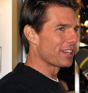 Tom Cruise in Toronto in December 2008