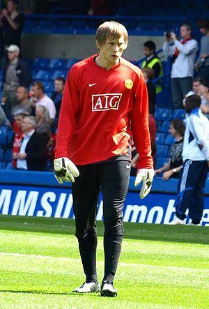 Tomasz Kuszczak - Kuszczak training at Manchester United