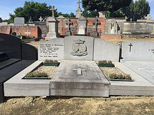 Charles Mertens de Wilmars - Tombstone of Charles Mertens de Wilmars in the Heverlee Park Abbey