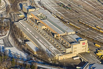 Tomteboda - Tomteboda mail processing facility