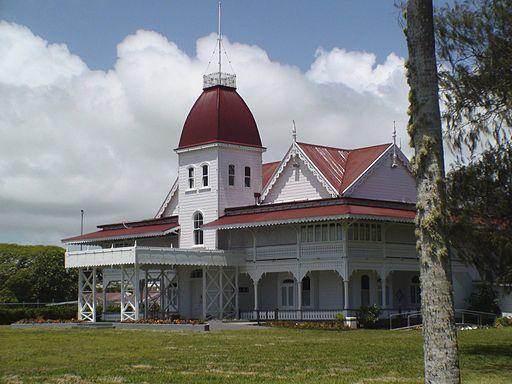 Tonga Royal Palace Oct 08