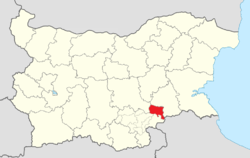 Topolovgrad Municipality Within Bulgaria.png