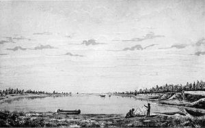 Toronto Harbour - Toronto Harbour in 1793.
