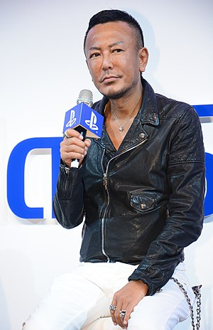 Super Monkey Ball (video game) - Director and producer, Toshihiro Nagoshi, seen here in 2014