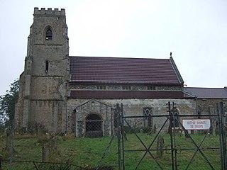 Tottington, Norfolk village in the United Kingdom