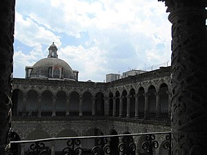 La Merced Cloister - Tower on south or street side of the building