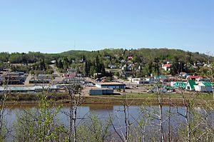 Athabasca, Alberta - Image: Town of Athabasca, Alberta photograph