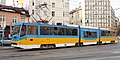 Tram in Sofia mear Macedonia place 2012 PD 015.jpg