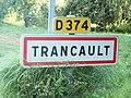 Trancault-FR-10-panneau d'agglomération-02.jpg
