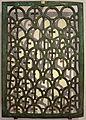 Transenna di finestra in bronzo, dalla cripta di s. apollinare in classe, VI secolo.jpg