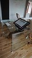 Transparent desk with Dell tablet - front right (2015-04-13 13.18.17 by c-g.).jpg