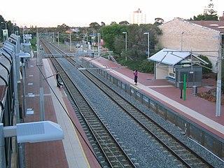 Swanbourne railway station, Perth