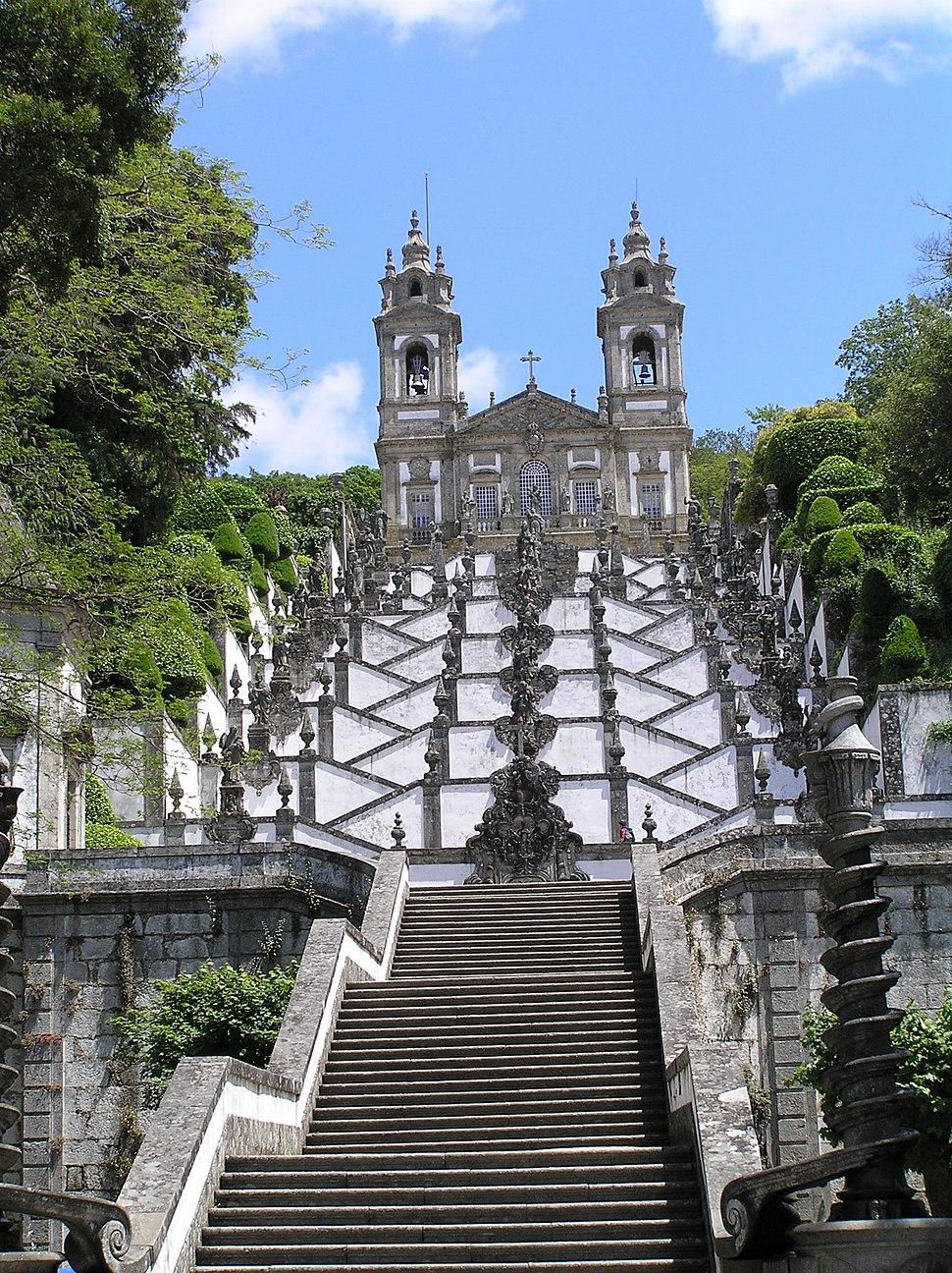 Treppenaufgang Bom Jesus do Monte