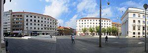 Croatian Nobles Square (Zagreb) - Image: Trg hrvatskih velikana Zagreb 20121007 0206P