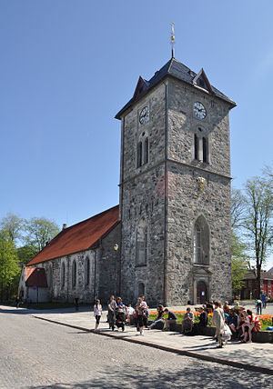 Vår Frue Church - Image: Trondheim Vår Frue church