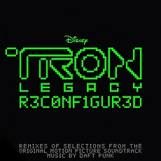 Обложка альбома Daft Punk «Tron: Legacy Reconfigured» ()