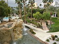 Tropicana Las Vegas, pool and garden.JPG
