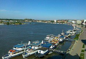 Tulcea County - Tulcea harbour