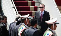 Turkish President Recep Tayyip Erdoğan arriving in Tehran's Mehrabad International Airport.jpg