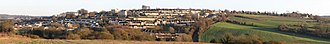 Twerton - Image: Twerton, Bath, panorama from west