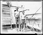 Two young crew members on board MAGDALENE VINNEN (7891002126).jpg
