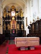 Tyniec - Klasztor - Ołtarz.JPG