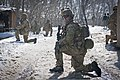 U.S. Army Sgt. Nicholas Fenton, center, Bravo team leader for 2nd Squad, Scout Platoon, Headquarters and Headquarters Company, 3rd Battalion, 509th Infantry Regiment, Task Force Spartan, pulls security on a side 120216-A-ZU930-002.jpg