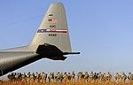U.S. Army rangers prepare to board a USAF C-130 Hercules.jpg