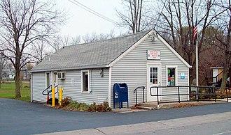 Alabama, New York - United States Post Office, Basom NY, November 2010