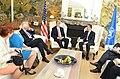 U.S. Secretary of State John Kerry meets with NATO Secretary General Anders Fogh Rasmussen in Brussels, Belgium, on April 22, 2013.jpg
