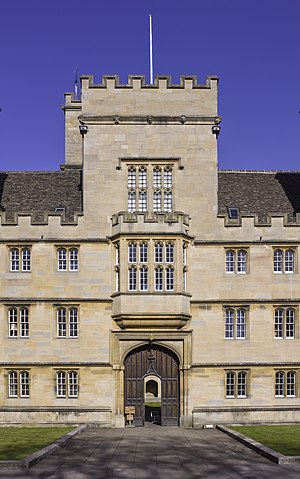 Wadham College, Oxford - Image: UK 2014 Oxford Wadham College 05