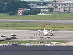 UNI Air B-15239 Recharging at Songshan Airport Apron 20120807a.JPG