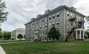 University of Rhode Island - Image: URI East Hall and Washburn Hall
