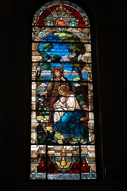 USA-San Jose-Cathedral Basilica of Saint Joseph-Holy Family.jpg