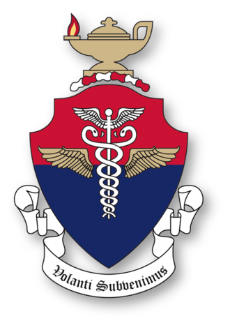 United States Air Force School of Aerospace Medicine - Shield of USAFSAM - created 21 March 1925