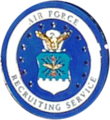 USAF Recruiting Service Certified Recruiter Badge.png