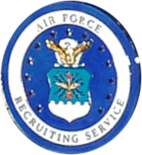 U.S. Air Force Recruiting Service Certified Recruiter Badge