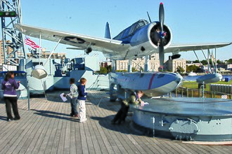 Lynn Garrison - Kingfisher donated to North Carolina Battleship Commission
