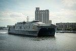 USNS Carson City (T-EPF-7) at Baltimore (USA) on 12 October 2016.JPG