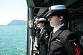 USS Antietam enters post in Busan 131004-N-TG831-339.jpg